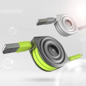 Retractable USB and Charger - Ninja New