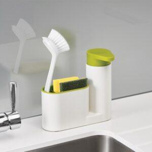 Soap dispenser and storage shelf - Ninja New