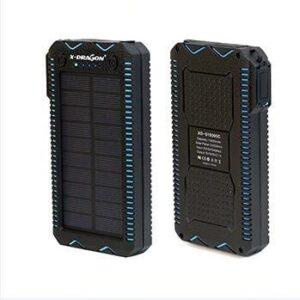 Solar Power Bank with Lighter - Ninja New